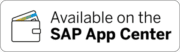 SAP AppCenter Badge